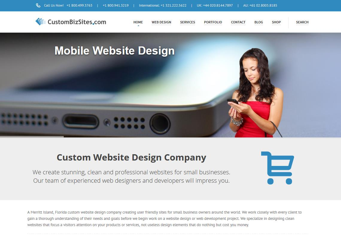Custom Website Design Company